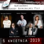 Autorzy nominowani do nagrody Kryminalnej Piły